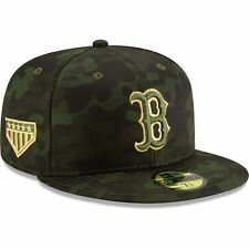 Boston Red Sox New Era MLB Armed Forces Day On-Field 59FIFTY Fitted Hat - Camo