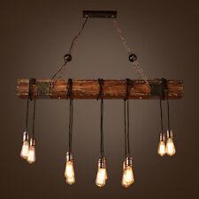Industrial Rustic Chandelier Pendant Light Ceiling Lamp Island Fixture USA