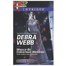 Would-Be Christmas Wedding (Harlequin LP Intrigue)