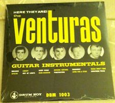 VENTURAS Here They Are Guitar LP surf 1965 ventures dick dale Del-Tones drum boy