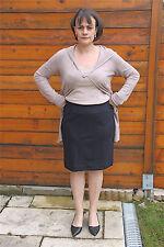 skirt jupe laine marine MARITHE FRANCOIS GIRBAUD T 44   NEUVE ÉTIQUETTE