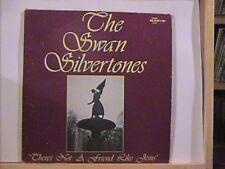 THE SWAN SILVERTONES THERES NOT A FRIEND LIKE JESUS - SAVOY LP # 14505 VINYL N/M