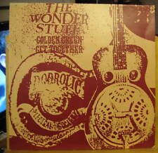 "THE WONDER STUFF Golden Green/Get Together/Gimme' Some Truth 12""single"