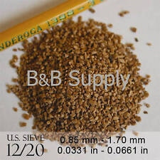 12/20 Grit Ground / Crushed Walnut Shell Media *12* LBS Great For Tumbling