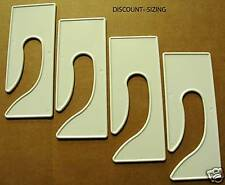 25 Blank King Size Dividers For Retail Clothing Racks