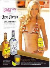 Jose Cuervo Hometown Hotties Print Ad 2012
