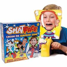 SPLAT FACE CREAM PIE SURPRISE GAME KIDS CHILDRENS TOY BIRTHDAY FAMILY FUN GAME