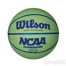"Wilson NCAA Illuminator Glow in the Dark Basketball, 28.5"" Intermediate WTB1613"