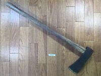 Japanese vintage Carpentry Tool NATA AXE ONO Hatchet Woodworking 635mm TT601