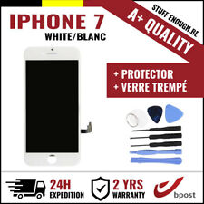 A+ LCD TOUCH SCREEN SCHERM ÉCRAN WHITE BLANC & VERRE TREMPÉ + TOOLS FOR IPHONE 7