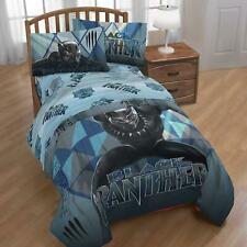 Marvel Black Panther Blue Tribe 4 Piece Twin Size Bed in a Bag