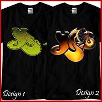 YES Rock Band Tribute CD Music Black T-Shirt TShirt Tee Size S M L XL 2XL 3XL