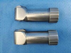 Set of 2 Hall Zimmer 1384-20 Surgical Osteotomy Saw Attachment Neurology