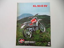 advertising Pubblicità 1976 MOTO GARELLI KL 50 E 5V CROSS