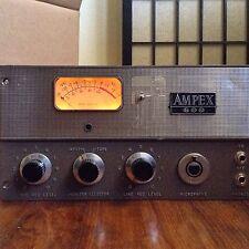 Vintage Ampex 601 600 602 Tube Mic Preamp MONO REFURB SERVICE AND MOD