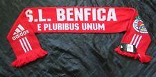 SL Benfica Lisboa ADIDAS As Águias O Glorioso, Encarnados E PLURIBUS UNUM SCARF