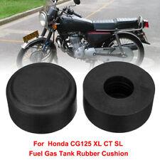 2X Fuel Gas Tank Cushion Pad Rubber Mount For Vintage Honda CG125 CT XL SL TL