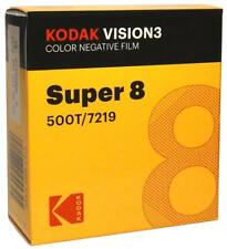 Kodak V3 SUPER 8 MM couleur film négatif 500 T Officiel 7219 revendeur