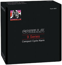 Gorilla 9000 Series Motorcycle Cycle Alarm with Remote Transmitter Universal fit