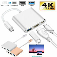 USB Type C to HDMI HDTV AV TV Cable Adapter For Samsung S8 S9 S20 Note10 MacBook