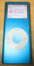 Apple IPOD Nano A1199 4GB 2 Gen 2nd Generation funzionante Azzurro Blue