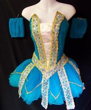 NEW!   GORGEOUS PEACOCK JEWELED DANCE BALLET TUTU COSTUME ~ MEDIUM ADULT