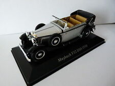 Voiture 1/43 IXO Classic altaya : MAYBACH V12 DS8 1930