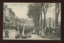 France Brittany HENNEBONT Rue Trottier 1905 PPC nice local costumes