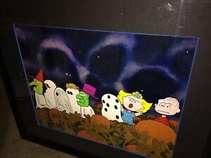 Peanuts Cel Its The Great Pumpkin Charlie Brown Trick Or Treat Bill Melendez