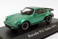 Atlas Editions 1/43 Scale 2 891 010 - 19675 Porsche 911 Turbo - Metallic Green