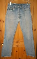 Levi's 501 Vintage Killer Fade Thrasher Jeans w/ Hige Made in USA, 33 x 30. J256