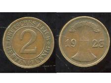 ALLEMAGNE 2  rentenpfennig  1923 G  ( bis )