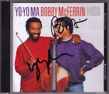 Bobby McFerrin Yo-Yo Ma signed Hush Little Baby Grace Flight of the Bumblebee CD