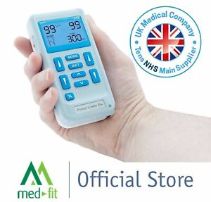 Med-Fit Rechargeable Dual Channel TENS & Muscle Stimulator (EM6300) - VAT FREE