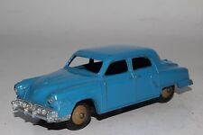 Dinky Toys, #172, 1950's Studebaker Sedan, Blue, Original