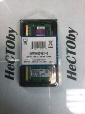 Kingston PC3-8500 4 GB SO-DIMM 1066 MHz DDR3 Memory (KVR1066D3S7/4G)