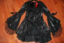 Lip Service - Dutchess De Sade II 38-538 - Black Canticle Court Dress - RARE