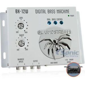 SOUNDSTREAM BX-12W CAR AUDIO DIGITAL BASS PROCESSOR + 1.5 FT RCA CABLE BX-12