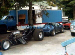 """Jungle Jim"" Liberman at Home 1970s ""Revell"" NITRO Funny Car Racing PHOTO! #(42)"