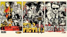 Pulp fiction Kill bill Reservoir Dogs POSTER Quentin tarantino DY-004 36x24""