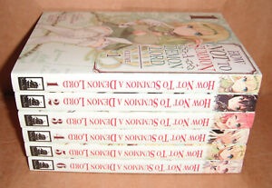 How NOT to Summon a Demon Lord Vol. 1,2,3,4,5,6 Manga Set English