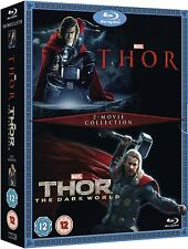 Thor 2-Movie Collection - Thor + Thor: The Dark World (Blu-ray) BRAND NEW!!