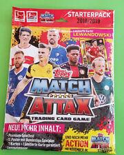 Topps Match Attax 2018/2019 Starterpack Sammelmappe + limitierte Auflage 18/19