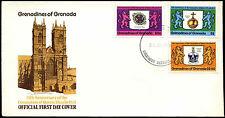 Grenadines Of Grenada 1978 Coronation 25th Anniv FDC First Day Cover #C38727