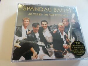 SPANDAU BALLET,40 YEARS,THE GREATEST HITS CD SET,2020,NEW SEALED