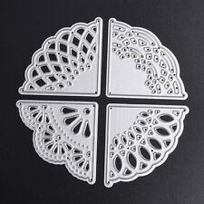 Lace Corner Dies Metal Cutting Stencil For Scrapbooking Paper Cards Gift Decor