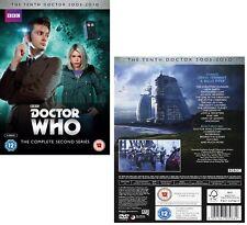DR WHO 2006 Series 2+2005 CHRISTMAS Doctor David TENNANT + Rose Season  - DVD UK