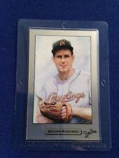 1992 Brooks Robinson PM Precious Metal Cards Mitsubishi Ser #0057 Platinum E4557