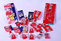 Football Club Keyring Party Loot Bag Gifts Fillers Filler Birthday Boy Fan