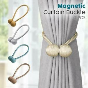 Otraki Strong Magnetic Ball 2 Pack Curtain Tiebacks Buckle Clips Holdbacks New